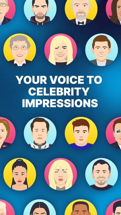 Celebrity Voice Changer Parody screenshot-4