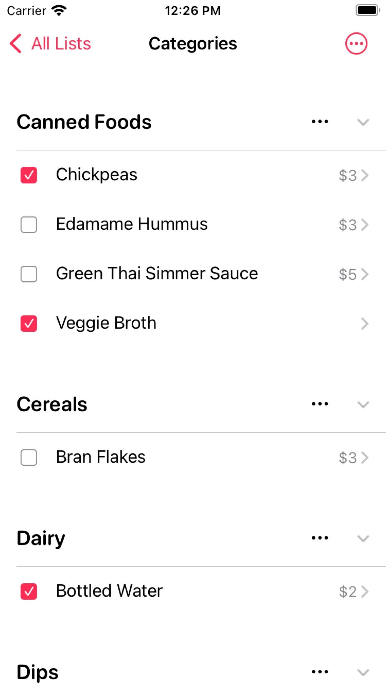 Screenshot do app Jotalicious