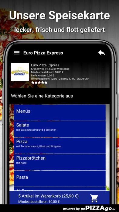 Euro Pizza Express Wesseling screenshot 4