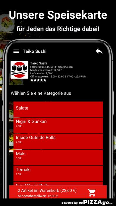 Taiko Sushi Saarbrücken screenshot 4