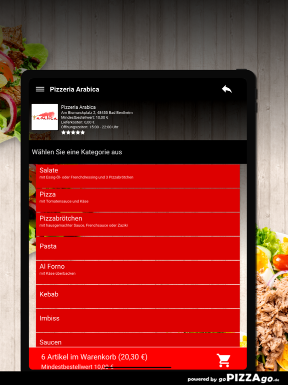 Pizzeria Arabica Bad Bentheim screenshot 8
