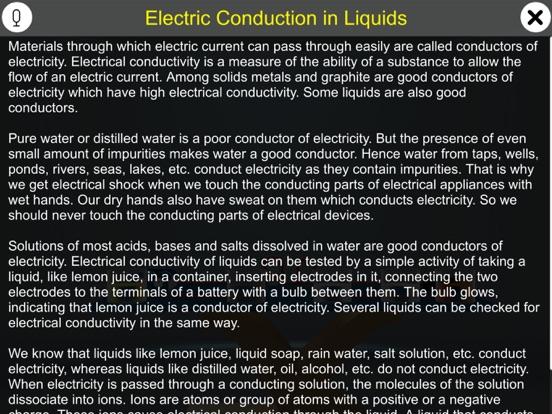 Electric Conduction in Liquids screenshot 9