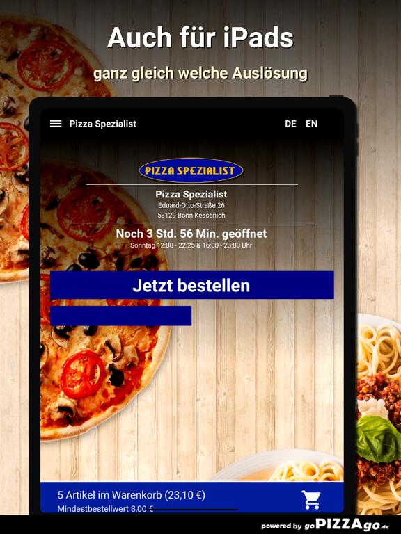 Pizza Spezialist Bonn screenshot 7
