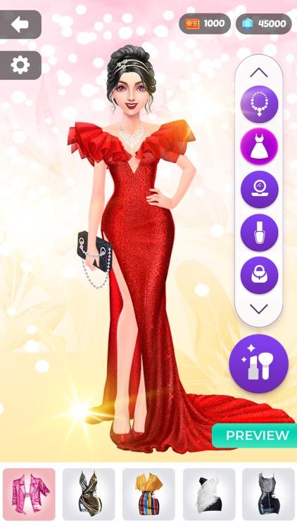 Fashion Show: Dress Up, Makeup screenshot-5