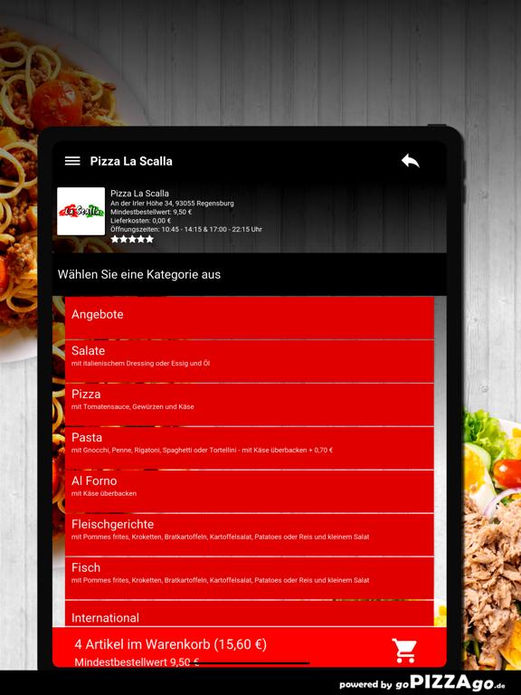 Pizza La Scalla Regensburg screenshot 8