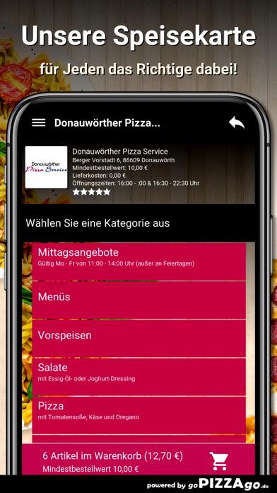 Donauwörther Pizza Donauwörth screenshot 4