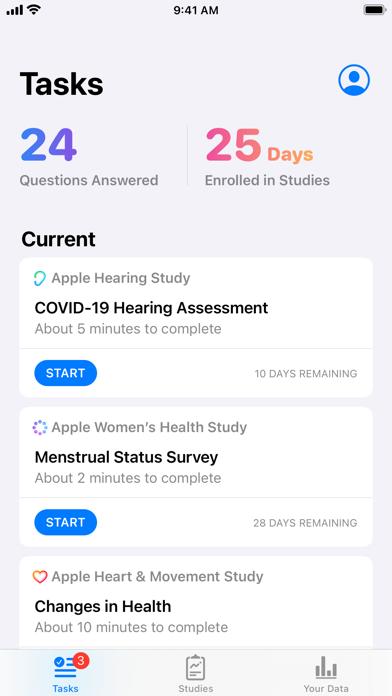 Apple Research Screenshot