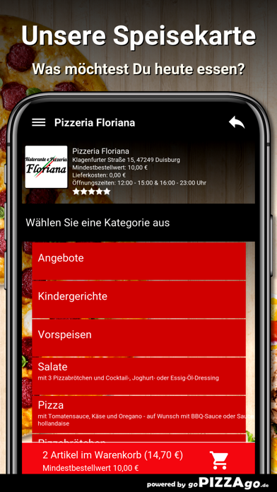 Pizzeria Floriana Duisburg screenshot 4