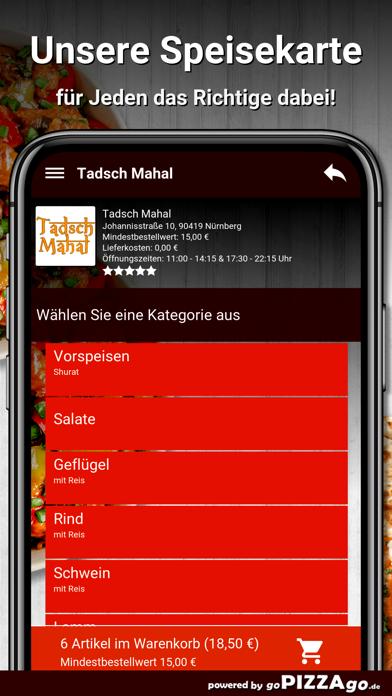 Tadsch Mahal Nürnberg screenshot 4