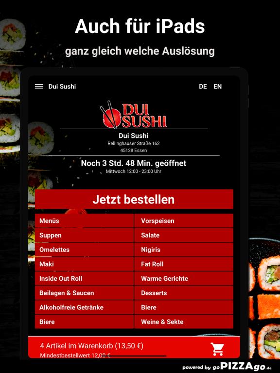 Dui Sushi Essen screenshot 7