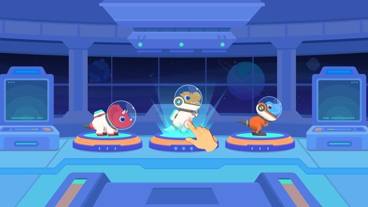Dinosaur Rocket Games for kids screenshot-9