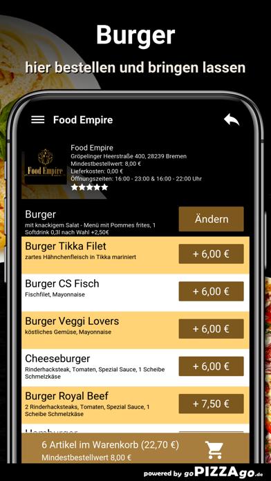 Food Empire Bremen screenshot 6