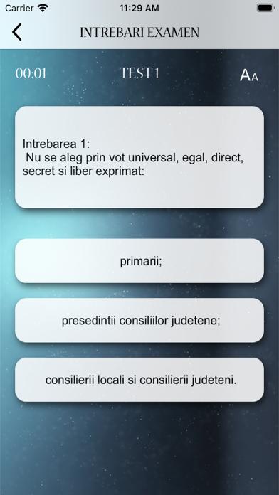 Intrebari Experti Electorali screenshot 3