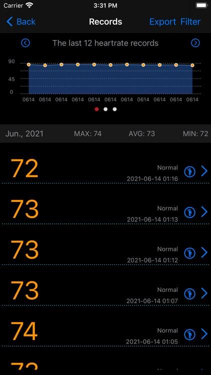 Measure Heart Rate screenshot-3