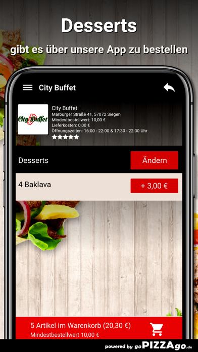 City Buffet Siegen screenshot 6
