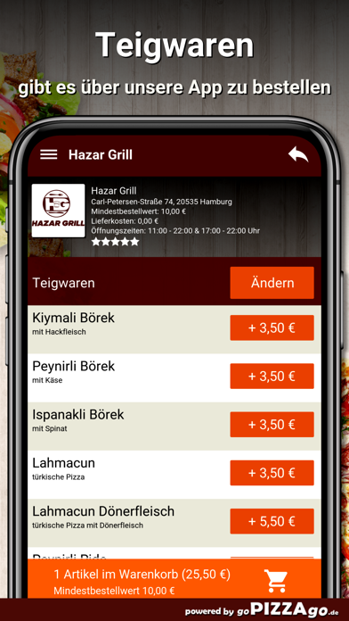Hazar Grill Hamburg screenshot 6