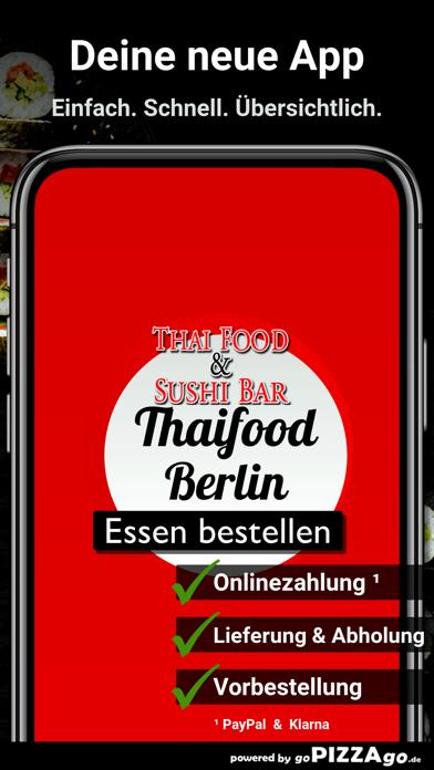 Thaifood & Sushi Bar Berlin screenshot 1