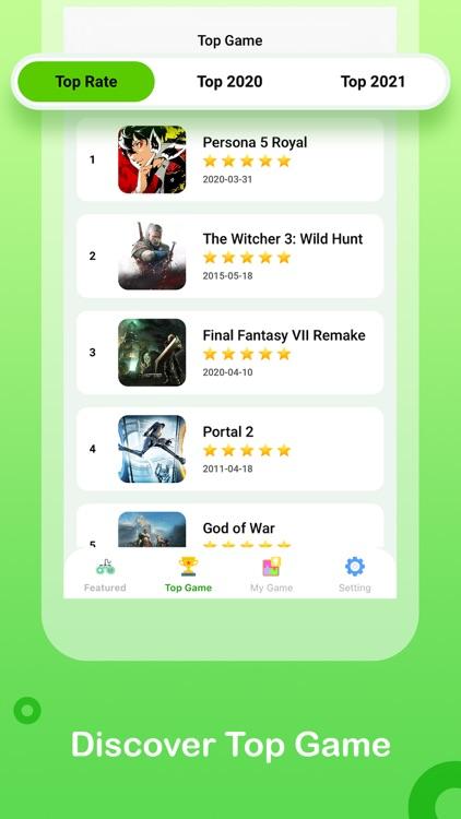 Happymod - Games Tracker, Apps screenshot-3