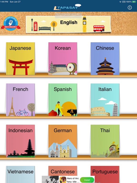 Tap & Say - Travel Phrasebookのおすすめ画像2