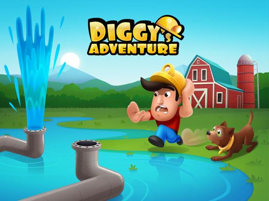 Diggy's Adventure: Puzzels iPad app afbeelding 1