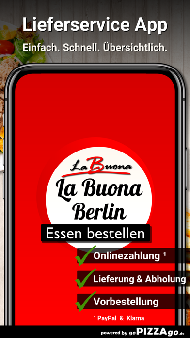 Ristorante La Buona Berlin screenshot 1