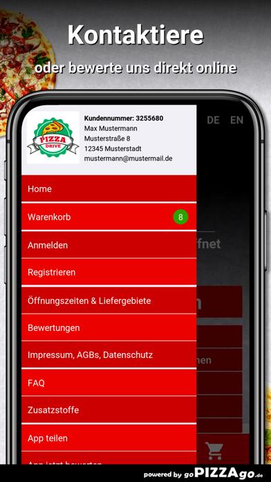 Pizza Drive Pforzheim screenshot 3