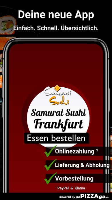 Samurai Sushi Frankfurt screenshot 1