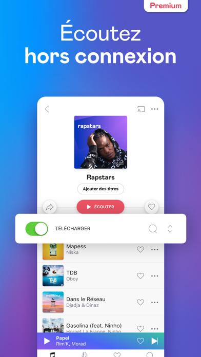 Deezer: Musique & Podcasts screenshot three