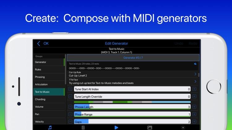 Wotja Pro 21: Generative Music screenshot-3