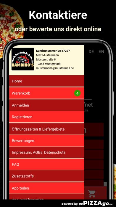 Pizza Bambino Kassel screenshot 3