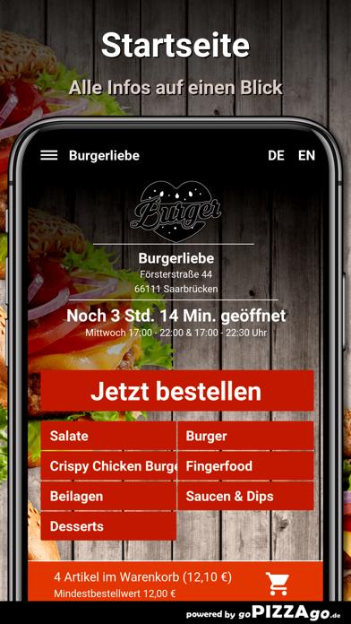 Burgerliebe Saarbrücken screenshot 2