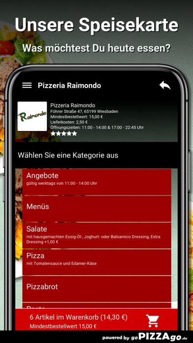 Pizzeria Raimondo Wiesbaden screenshot 4
