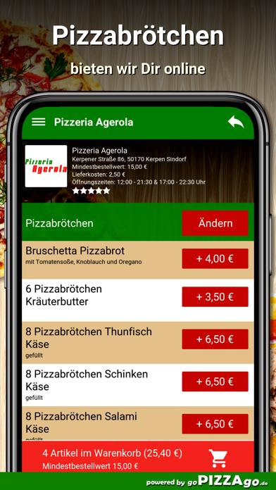 Agerola Kerpen Sindorf screenshot 5