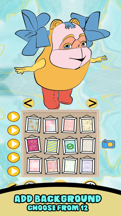 Zuza Coloring Book screenshot 2