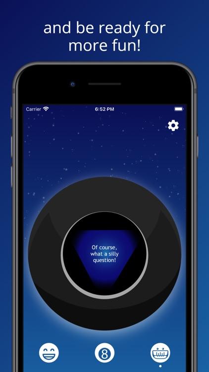 Magic 8 Ball: Question Game screenshot-5