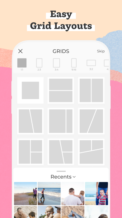 PicCollage Grid & Photo Editor screenshot three
