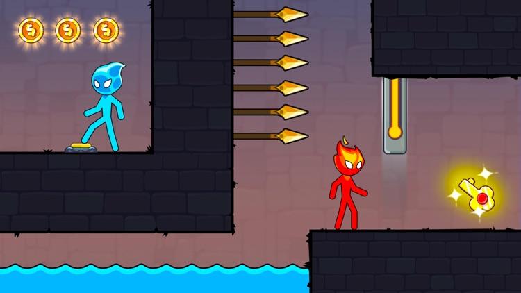 Stickman Red And Blue screenshot-4
