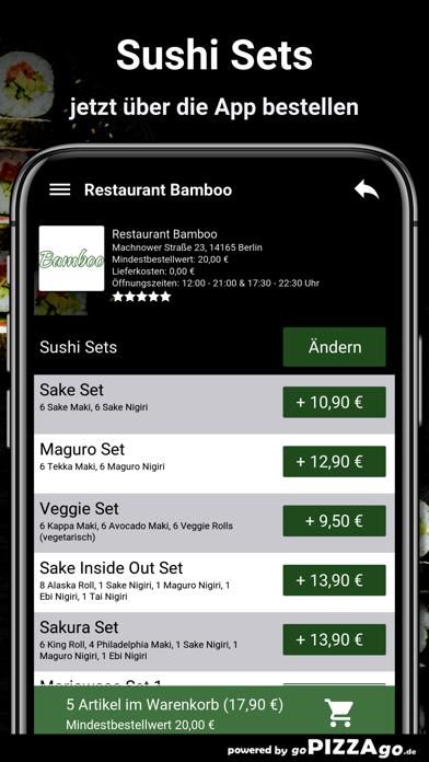 Restaurant Bamboo Berlin screenshot 5