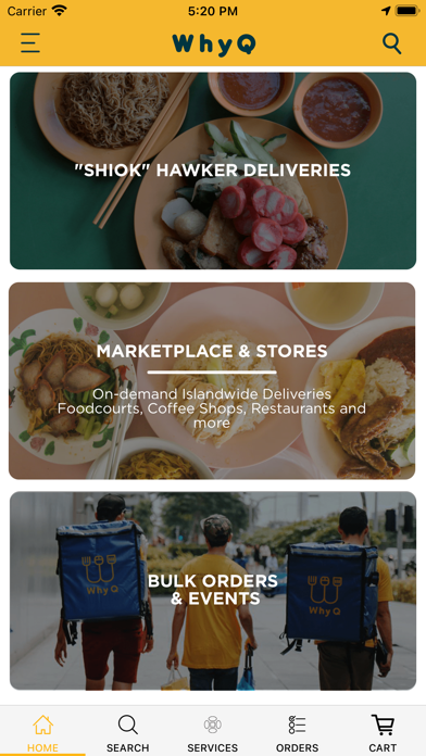 WhyQ Hawker DeliveryScreenshot of 1