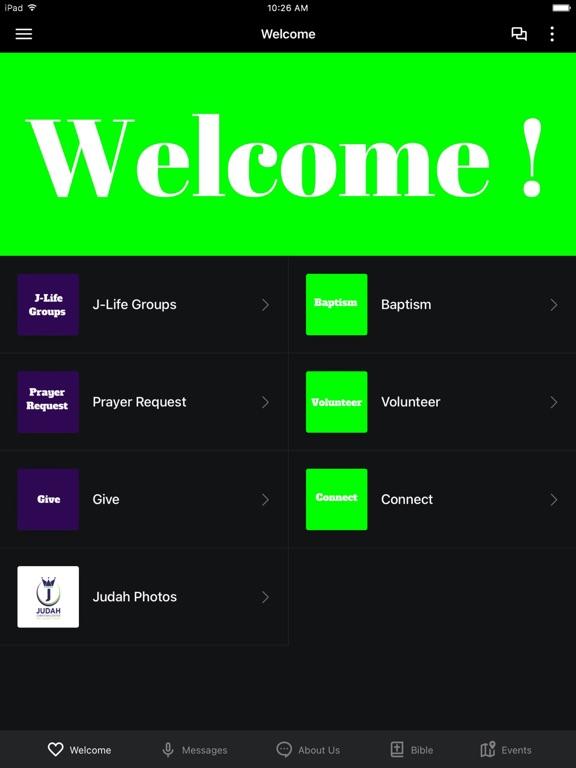 Judah Christian Center screenshot 4