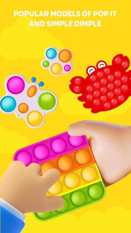 Pop It ASMR Fidget Games 3D screenshot-0