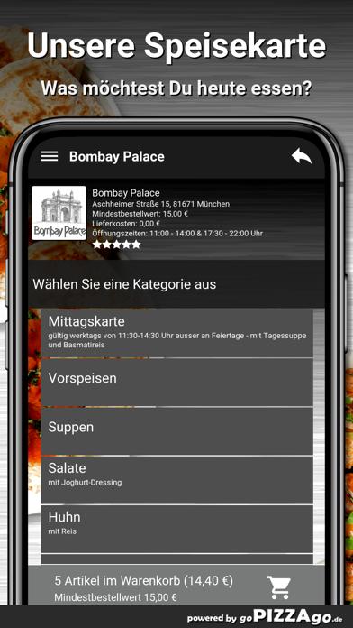 Bombay Palace München screenshot 4