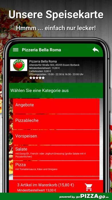 Bella Roma Essen Borbeck screenshot 4