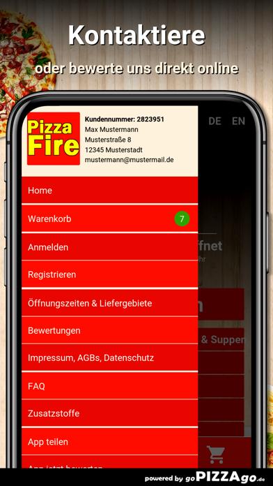 Pizza Fire Mannheim Waldhof screenshot 5