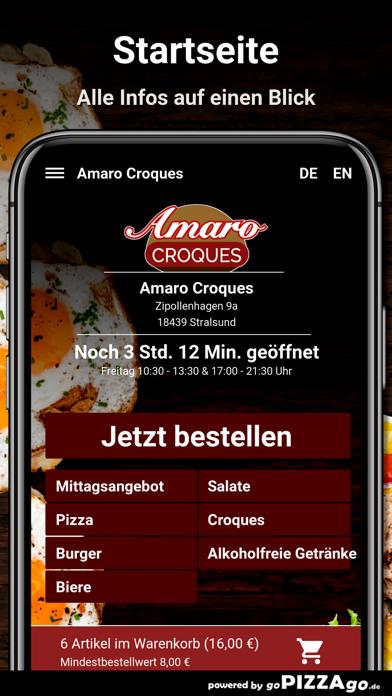 Amaro Croques Stralsund screenshot 2