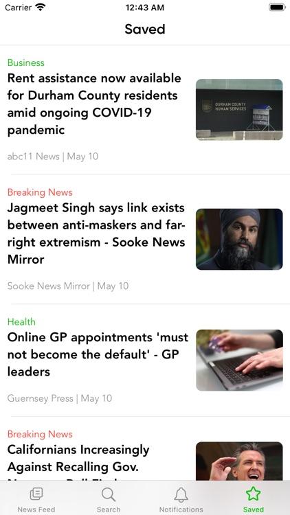 Newsflash Speed Reader screenshot-9
