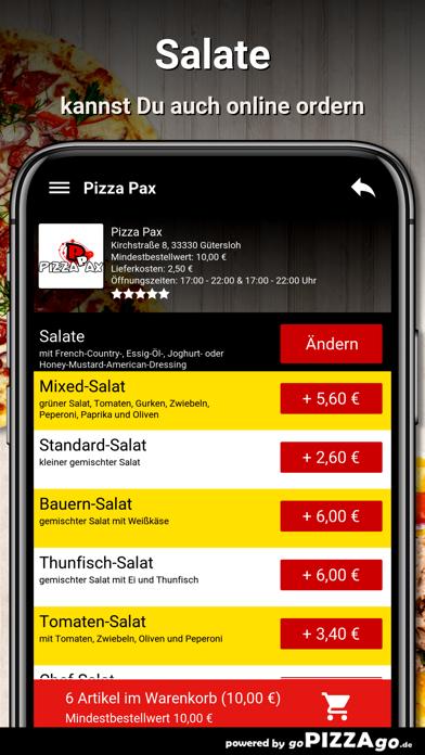 Pizza Pax Gütersloh screenshot 3