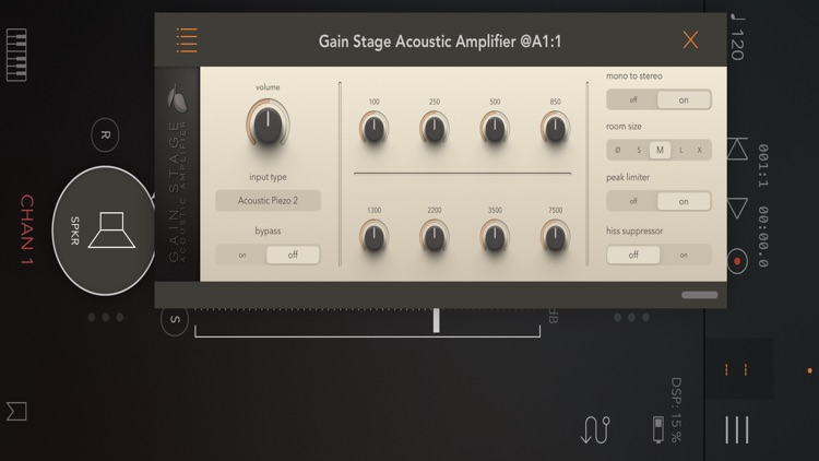 Gain Stage Acoustic