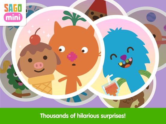 Sago Mini Super Juice Maker screenshot 11