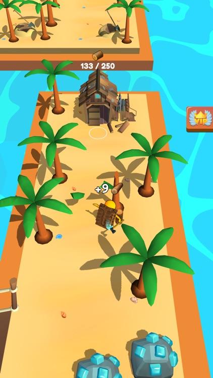 Buildy Island 3d: Chop & Craft
